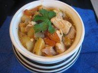 Томатный суп в горшочке