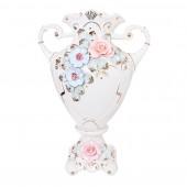 Напольная ваза Орбита, цветная лепка