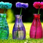 Использование напольных ваз в интерьере современных домов